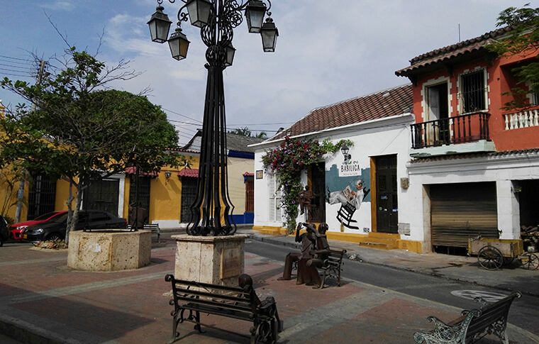 walking tour cartagena bolivar colombia