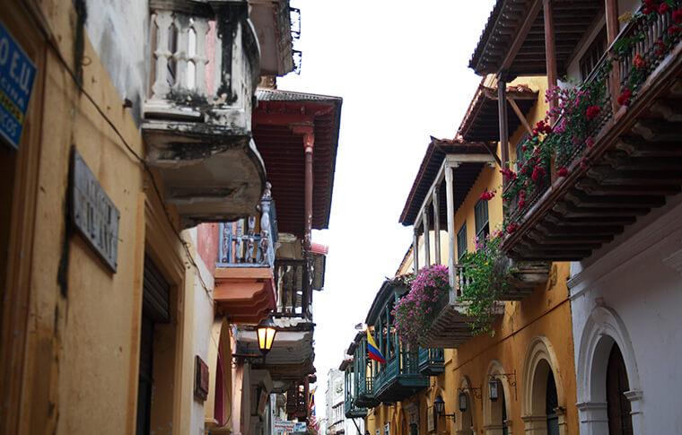 ciudad amurallada cartagena