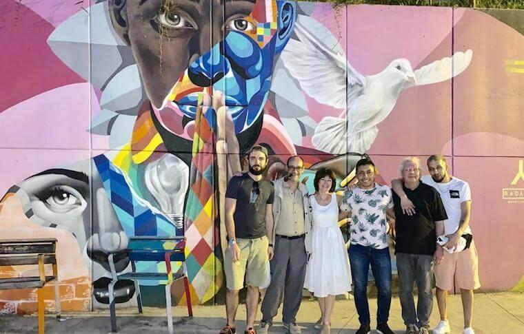 graffiti tour medellin comuna 13