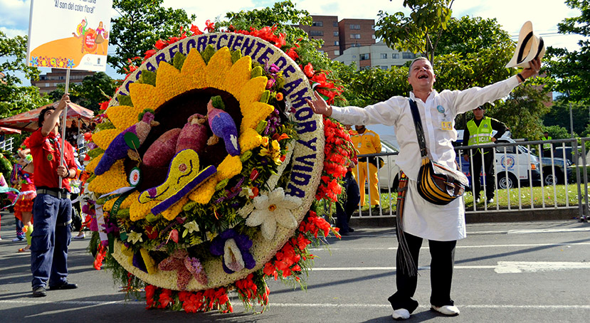 Silleteros Parade
