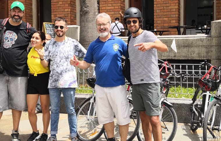 Bicicletas en Medellín