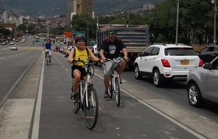 Recorriendo Medellín en Bicicleta