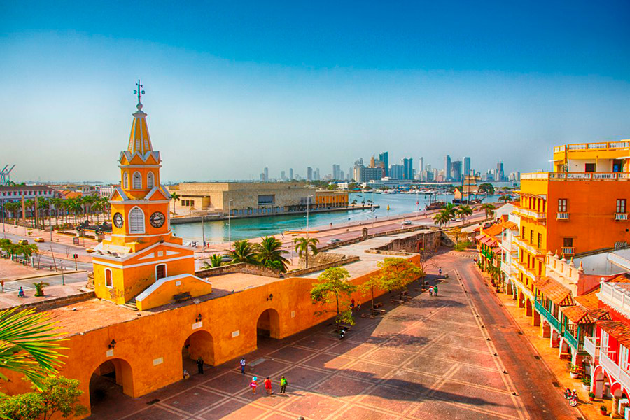 best cities in colombia cartagena